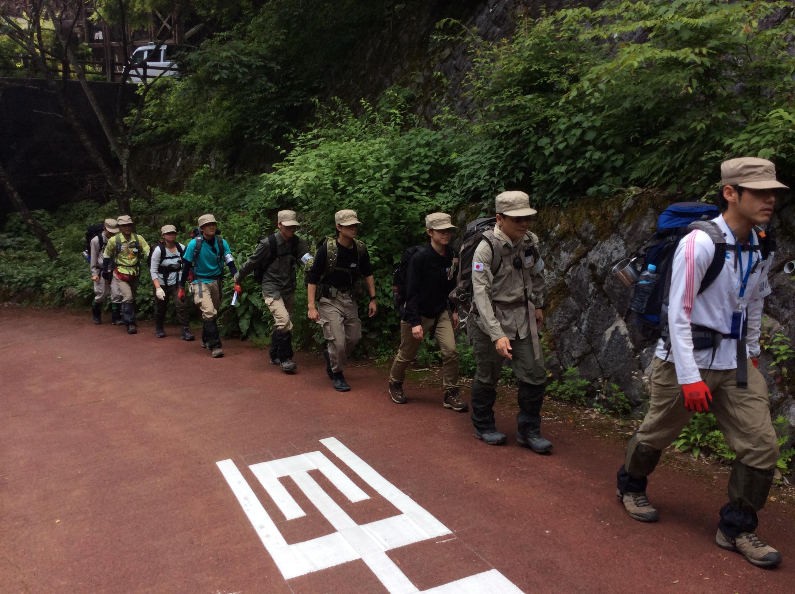 第6次隊第1回登山訓練②