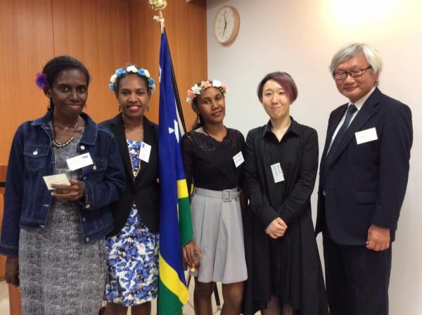 ソロモン諸島独立40周年記念祝賀会東京総領事館