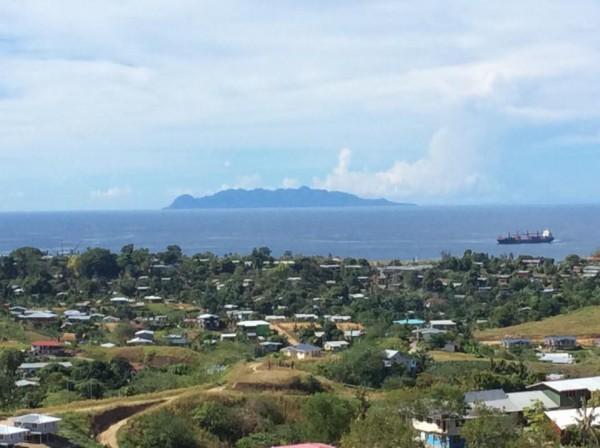 ソロモン海とサボ島